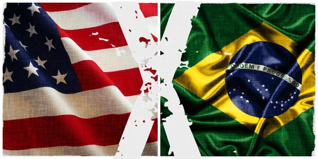 malha ferroviária eua e brasileira
