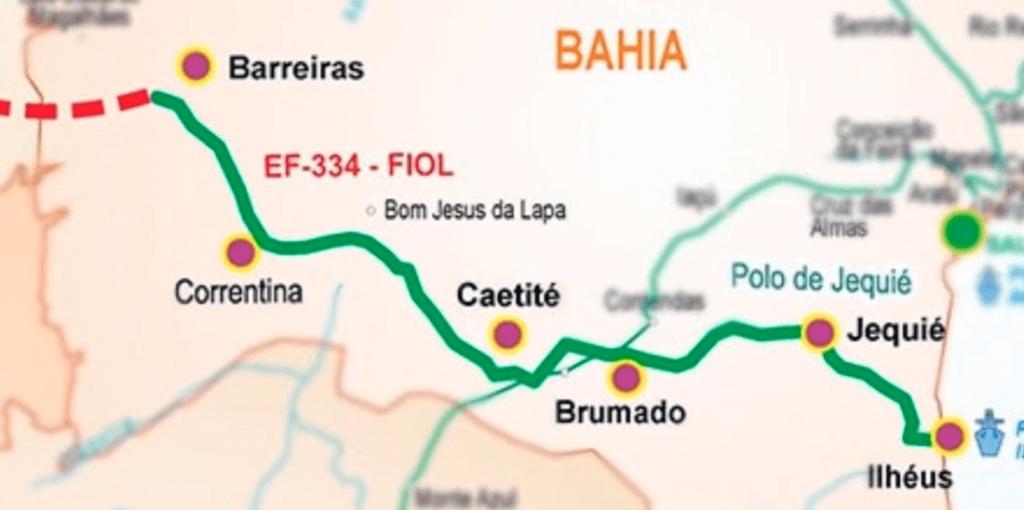 Ferrovia de integração Oeste-Leste (FIOL)Quais são os Projetos de ferrovias no brasil em andamento?
