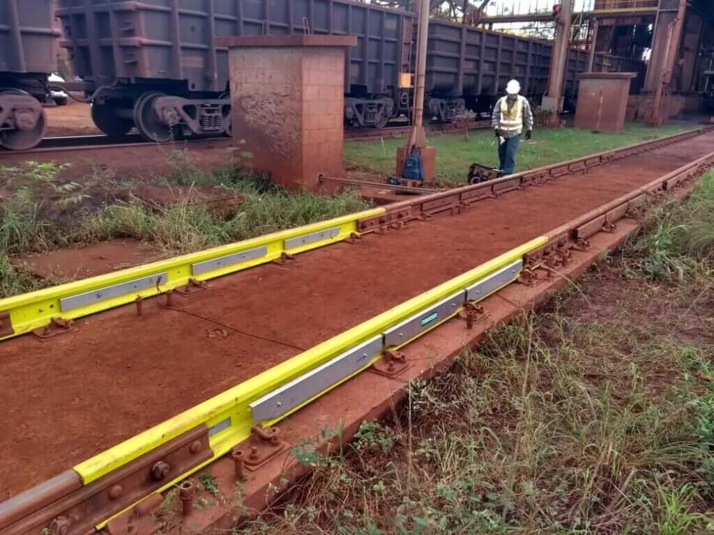 Pesagem ferroviária