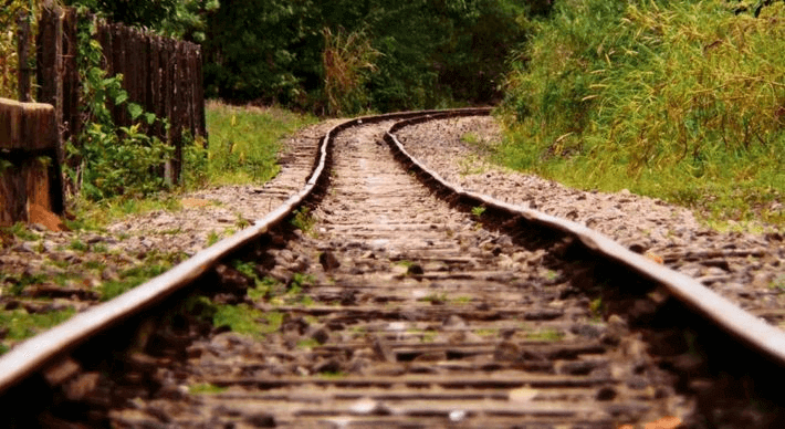 Trajeto da primeira ferrovia do Brasil