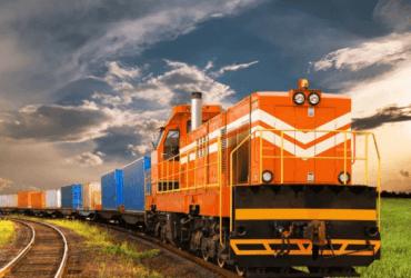 Como é feita a pesagem de um trem de carga em movimento