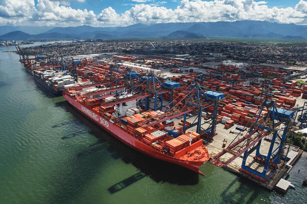 Porto de Santos principais portos brasileiros